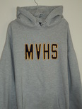 MVHS Hooded Sweatshirt, Gray Image
