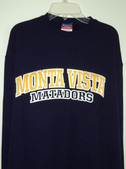 Monta Vista Embroidered Crew Sweatshirt Image
